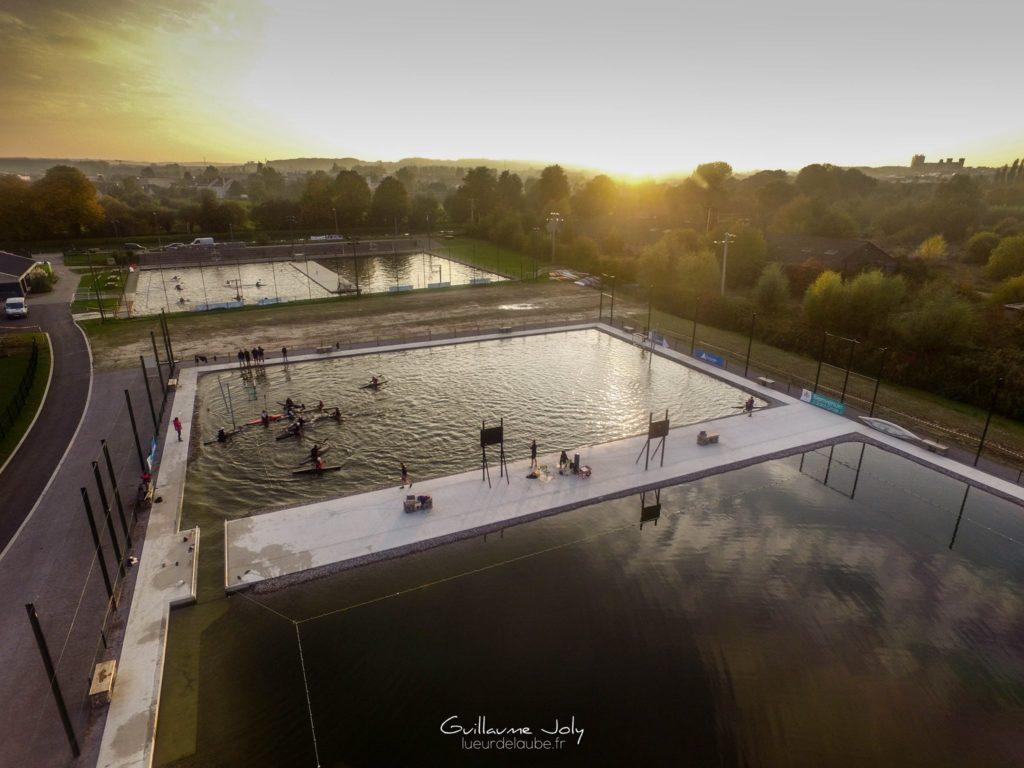 Canoe Club vue aérienne